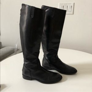 Steven By Steve Madden Leather Riding Boot